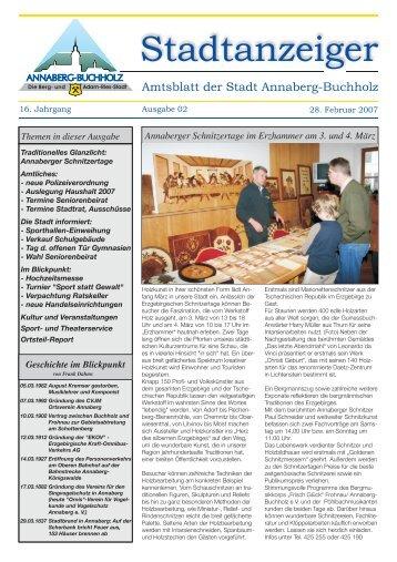 Amtsblatt 2007 02 - Annaberg-Buchholz