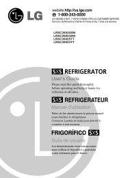 LRSC26925SW LRSC26923SW LRSC26925TT LRSC26923TT