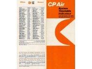 Bild 1 - Airline Timetable Images