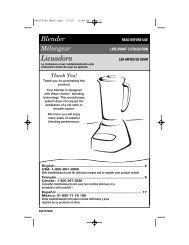 Blender Licuadora - Hamilton Beach