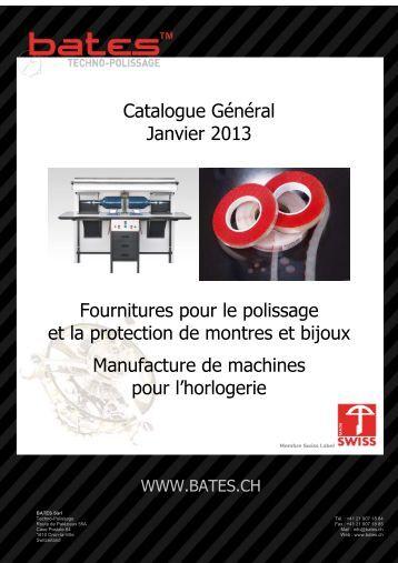 Catalogue Bates 2013 - Bates.ch
