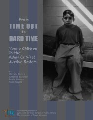 From Time Out to Hard Time - The University of Texas at Austin