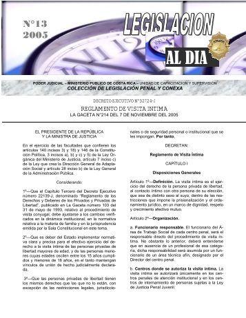 13-2005 - Ministerio Público - Poder Judicial