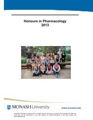Current Honours Projects - Faculty of Medicine, Nursing and Health ...