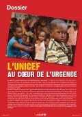 AU COEUR DE L'URGENCE - Unicef - Page 3