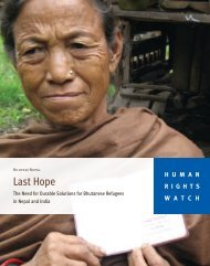 Last Hope - Human Rights Watch