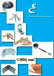 Verbindungsbeschläge - Katalog E - Tischlerei Lepper