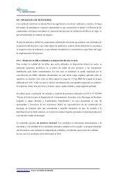 Programa monitoreo y plan contingencias - SEA - Servicio de ...