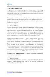 Programa monitoreo y plan de contingencia - SEA - Servicio de ...