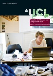 Adaptive Architecture and Computation MSc - UCL PDF Course ...