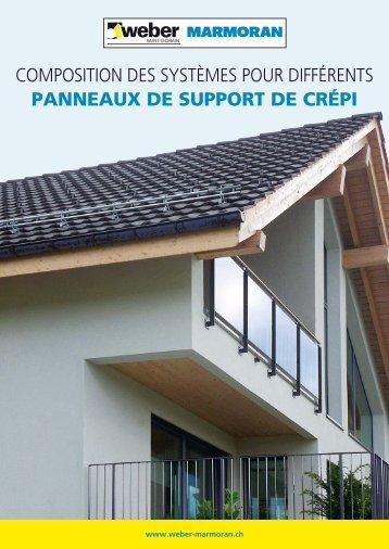 PDF Panneaux support de crépi - Saint-Gobain Weber AG