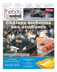 Châlons bichonne ses étudiants - L'Hebdo du Vendredi