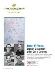Shorter RFI Process - New Millennium Building Systems