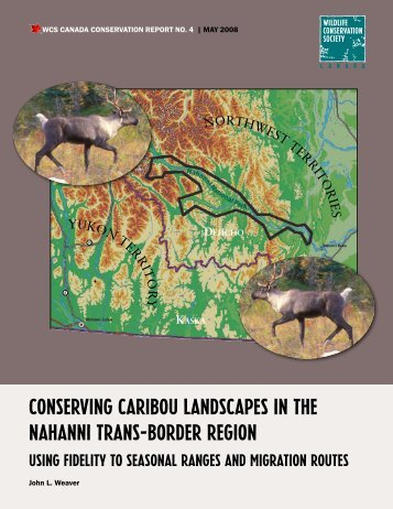 Conserving Caribou Landscapes in the Nahanni trans-border Region