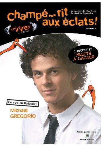 Michael GREGORIO - Maxi-Rires Festival 2013