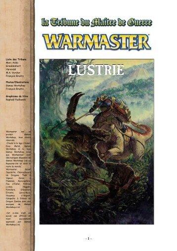 Warmaster Contrées - Lustrie