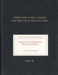 i total of 10 pages only may be xeroxed - Memorial University's ...