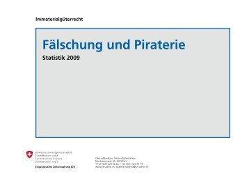 Fälschung und Piraterie