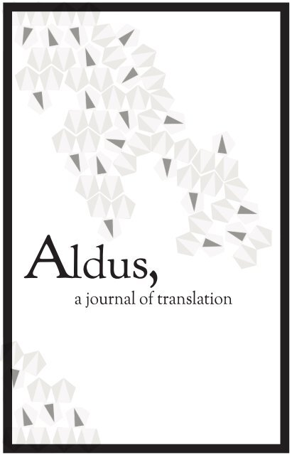 Aldus The Art Movement