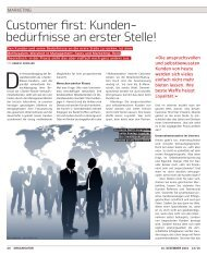 MARKETING - CRM-Finder Schweiz