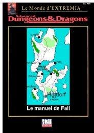 Le manuel de Fall - Extrêmia