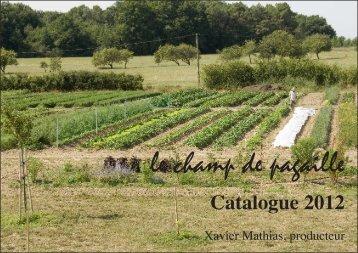 Catalogue 2012.indd - Lire au jardin
