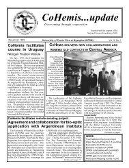 CoHemis...update - CoHemis - UPRM