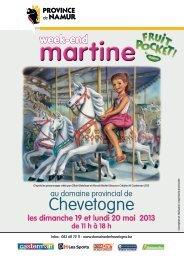 Programme du week-end Martine - Domaine Provincial de ...