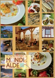 carte printemps.pdf - Hôtel **Restaurant Mendi Alde