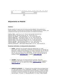 Alojamiento en Madrid - CoHemis