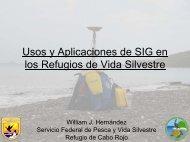 Usos y Aplicaciones de SIG en los Refugios de Vida ... - CoHemis