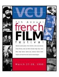 director - French Film Festival
