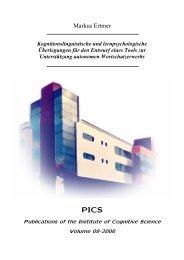 Kognitionslinguistische und lernpsychologische ... - Cognitive Science