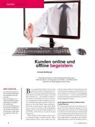 Kunden online und offline begeistern - Anne M. Schüller