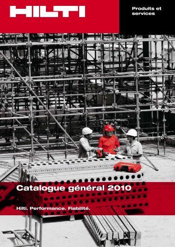 Catalogue général 2010 - Outil gratuit pour gérer vos devis