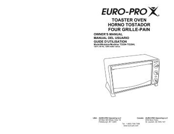 TOASTER OVEN HORNO TOSTADOR FOUR GRILLE-PAIN
