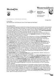 ebf 2 2009 10 - Anne-Frank-Realschule plus Montabaur / Westerwald