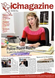 Palco Point Route - ICI Magazine