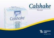 Recept med Calshake Neutral - Fresenius Kabi