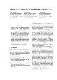 Demonstrative Pronouns and Personal Pronouns. German der vs. er.