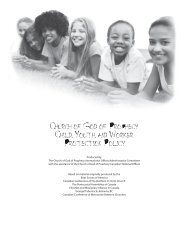 Church of God of Prophecy Child, Youth, and Worker Protection Policy
