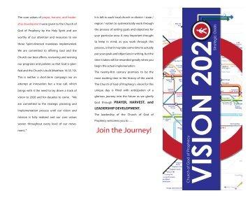 Vision 2020 Strategic Goals Brochure - Church of God of Prophecy
