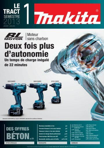Catalogue MAKITA 2013 - Promafix