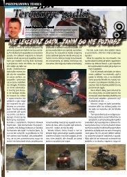 Terenowe gadki - ATV Sport