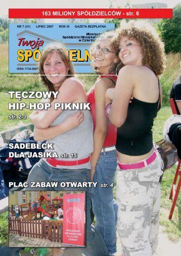 gazeta nr 31 CS.indd - Spółdzielnia Mieszkaniowa w Dzierżoniowie