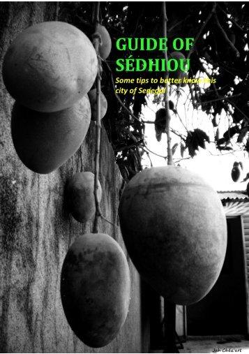 GUIDE OF SÉDHIOU - Cesie