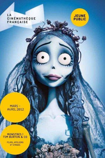 mars - avril 2012 jeune Public - La Cinémathèque française