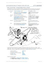 vcp_04: conversational past of irregular verbs with sein [pdf]