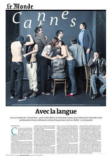 LE MONDE.pdf - Rencontres du moyen-métrage de Brive