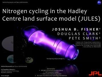 Josh Fisher - CESM | Community Earth System Model